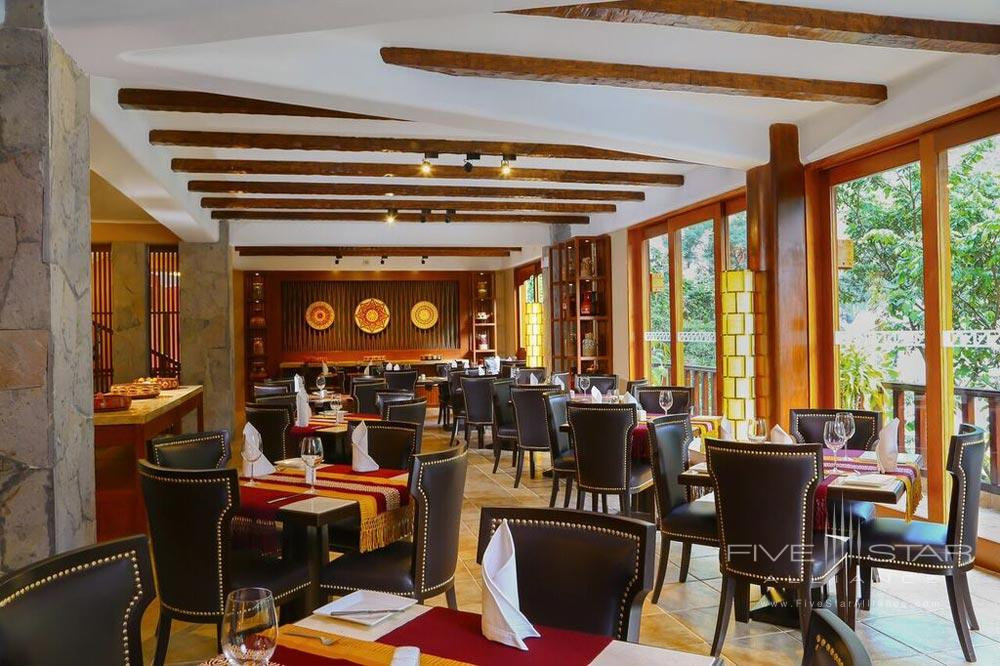 Qunuq Restaurant at Sumaq Machu Picchu Hote, lMachu Picchu, Peru