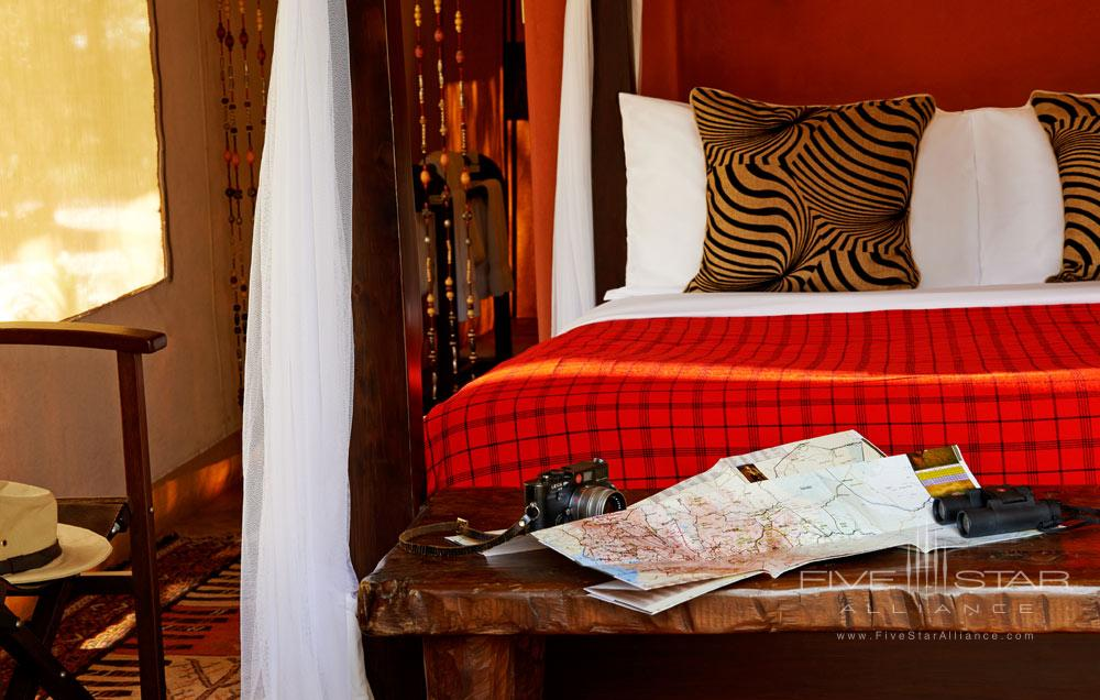 Single Guest Room at Fairmont Mara Safari Club