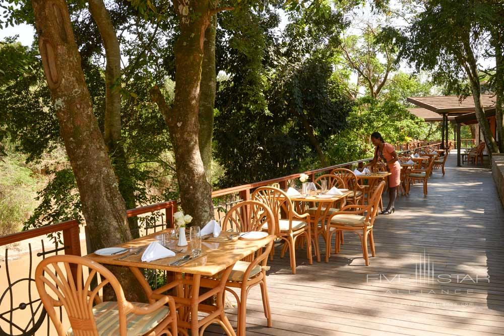 Terrace Dining at Fairmont Mara Safari Club
