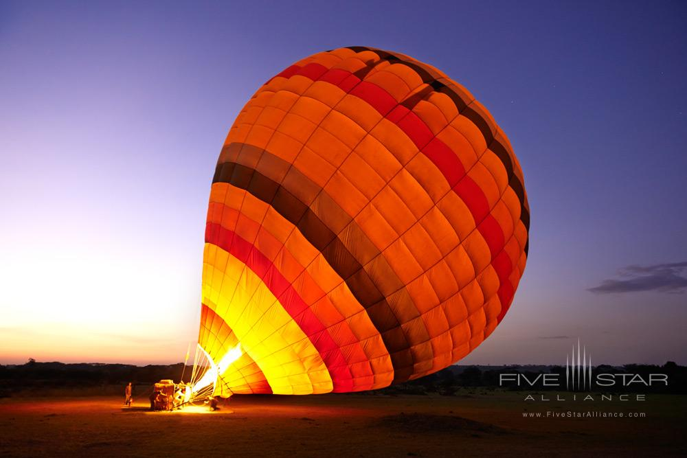 Hot Air Balloon Ride Over the Safari at Fairmont Mara Safari Club