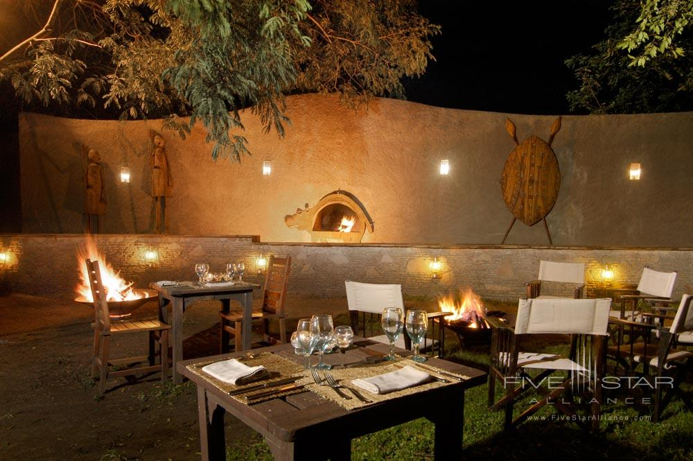 Outdoor Dining at Fairmont Mara Safari Club