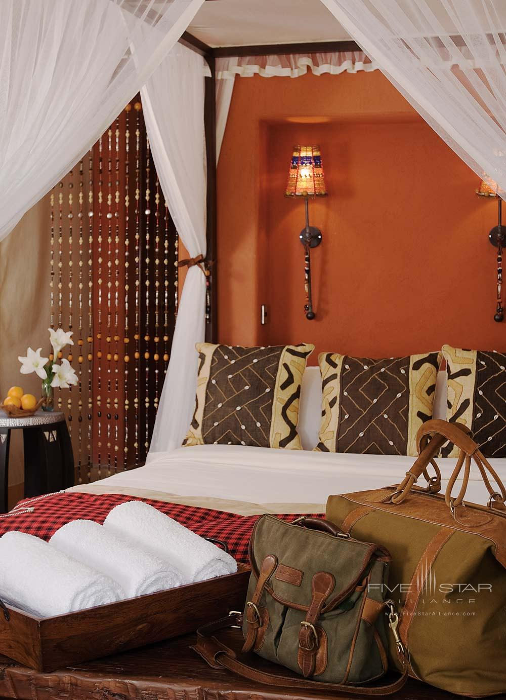 Guest Room at Fairmont Mara Safari Club