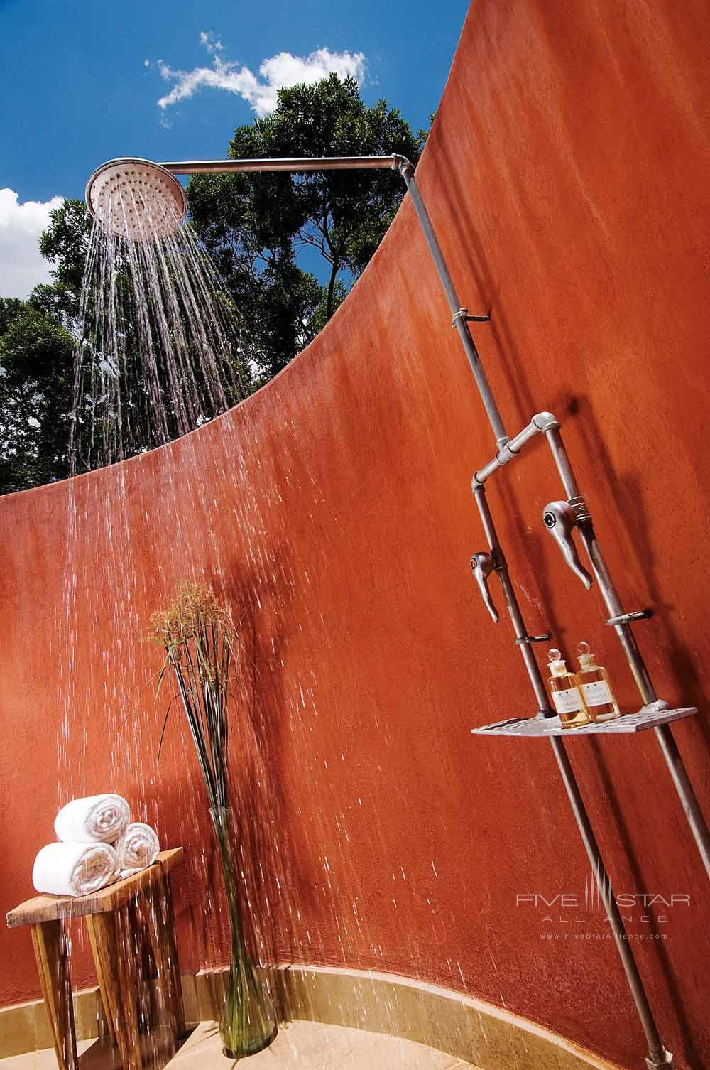 Outdoor Rain Shower at Fairmont Mara Safari Club