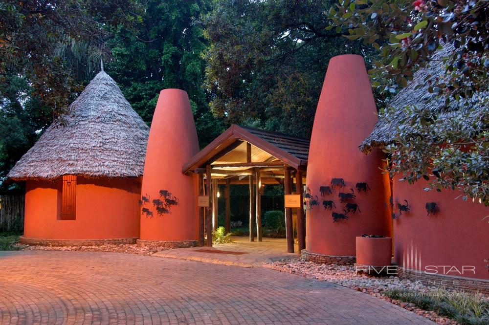 Entrance at Fairmont Mara Safari Club