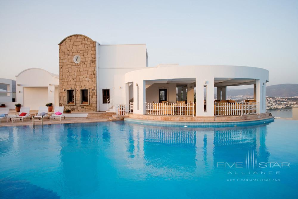 Pool at Doria Hotel Bodrum, Turkey