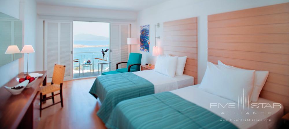 Deluxe Sea Twin Room at Doria Hotel Bodrum, Turkey
