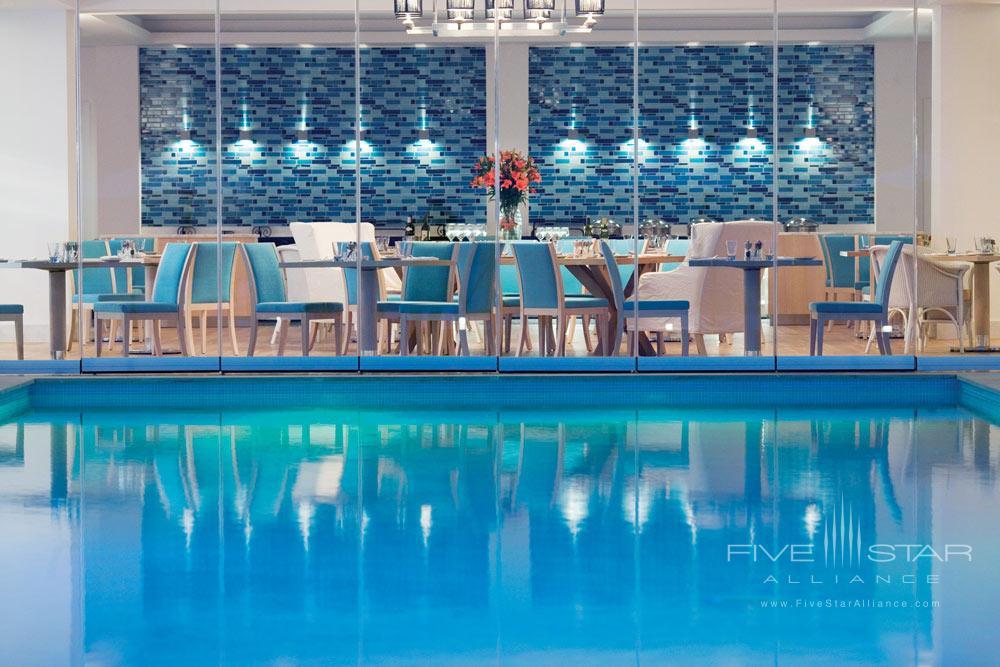 Blu Restaurant at Doria Hotel Bodrum, Turkey