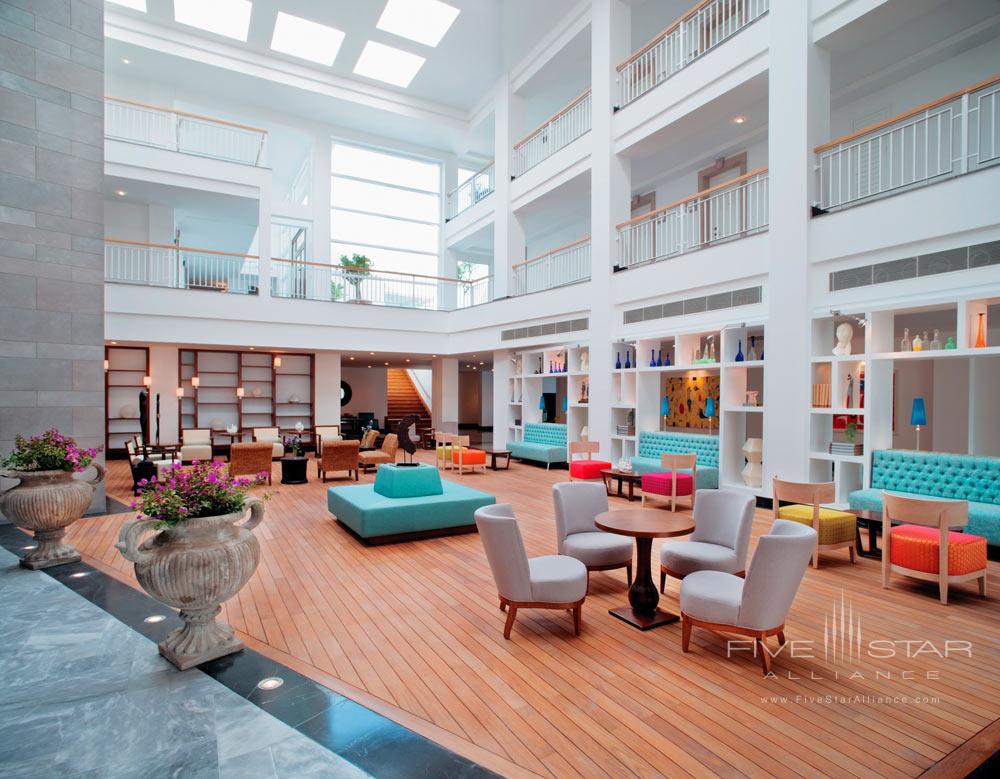 Lobby at Doria Hotel Bodrum, Turkey