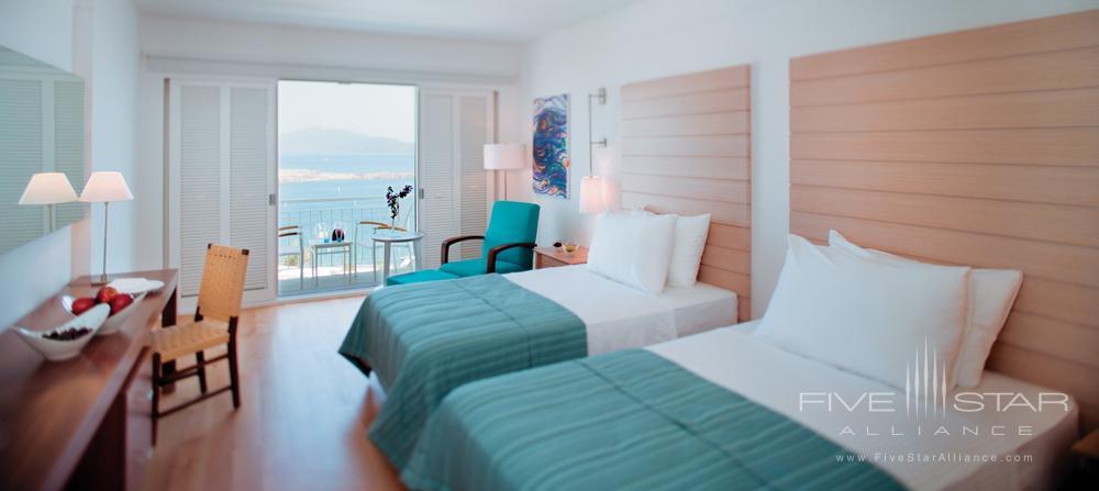 Luxury Sea Twin Room at Doria Hotel Bodrum, Turkey