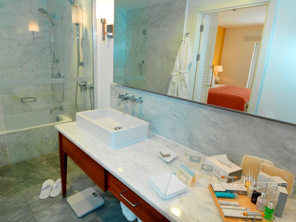 Executive Suite Bathroom at Doria Hotel Bodrum, Turkey