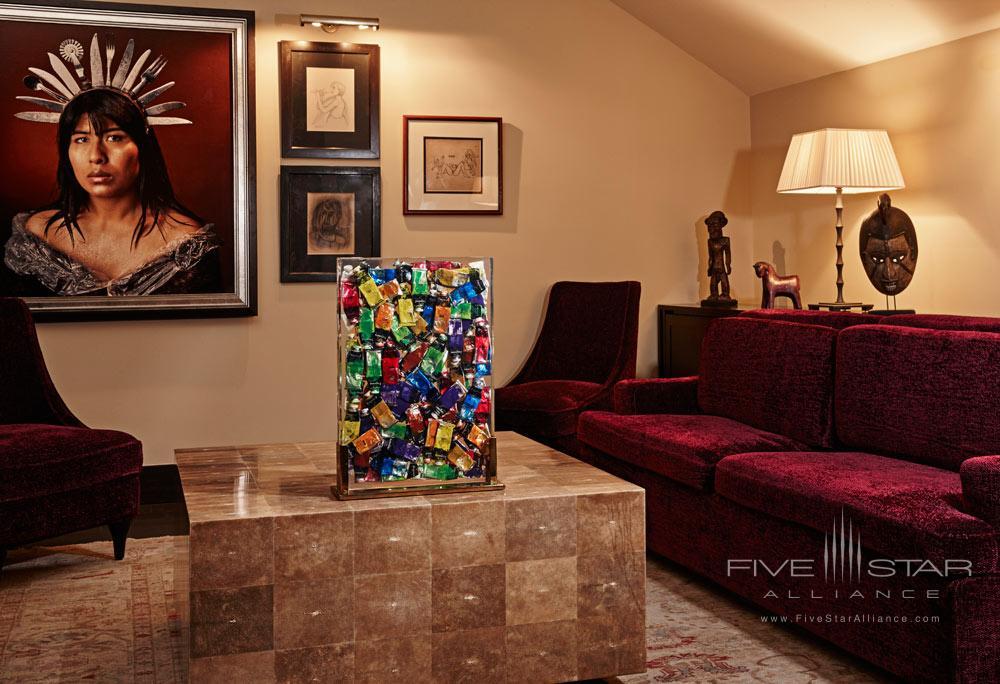 Hotel Vagabond Suite Living Area, Singapore