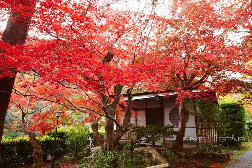 Exterior view at Suiran, Kyoto, Japan