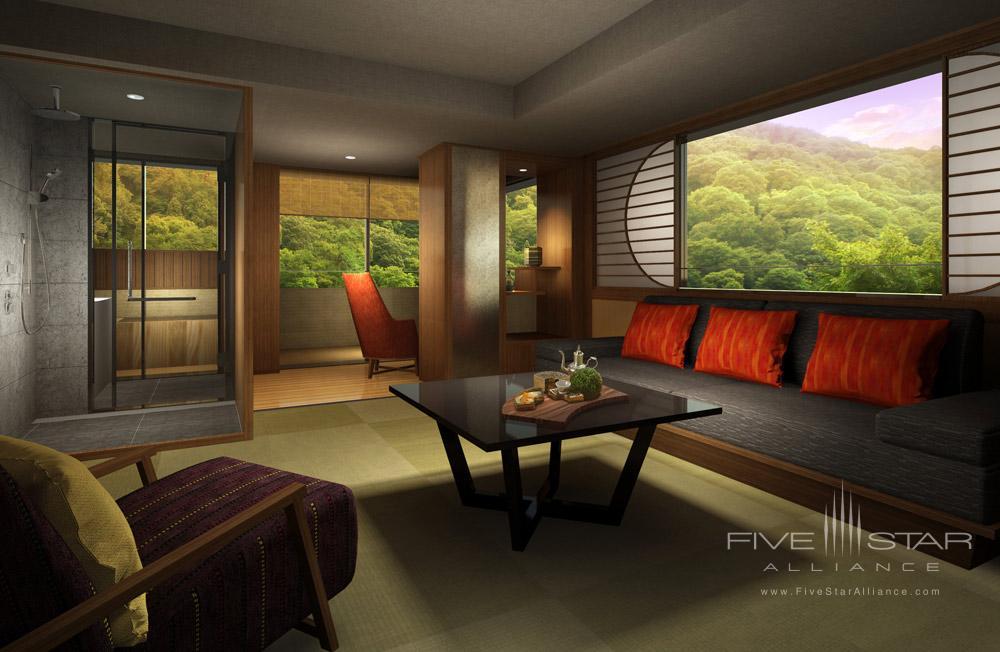 Family room at Suiran, Kyoto, Japan