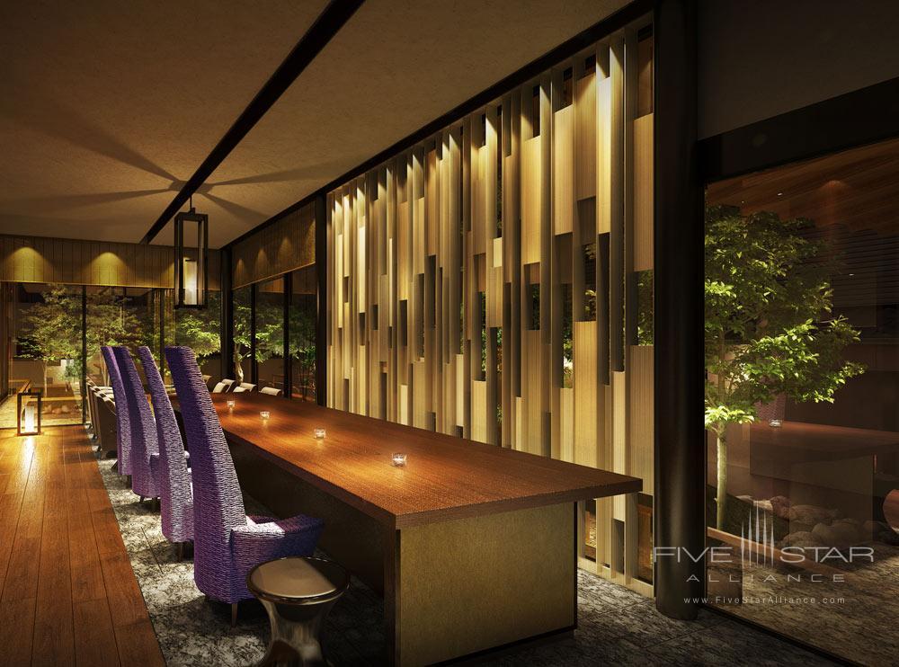 Lounge at Suiran, Kyoto, Japan