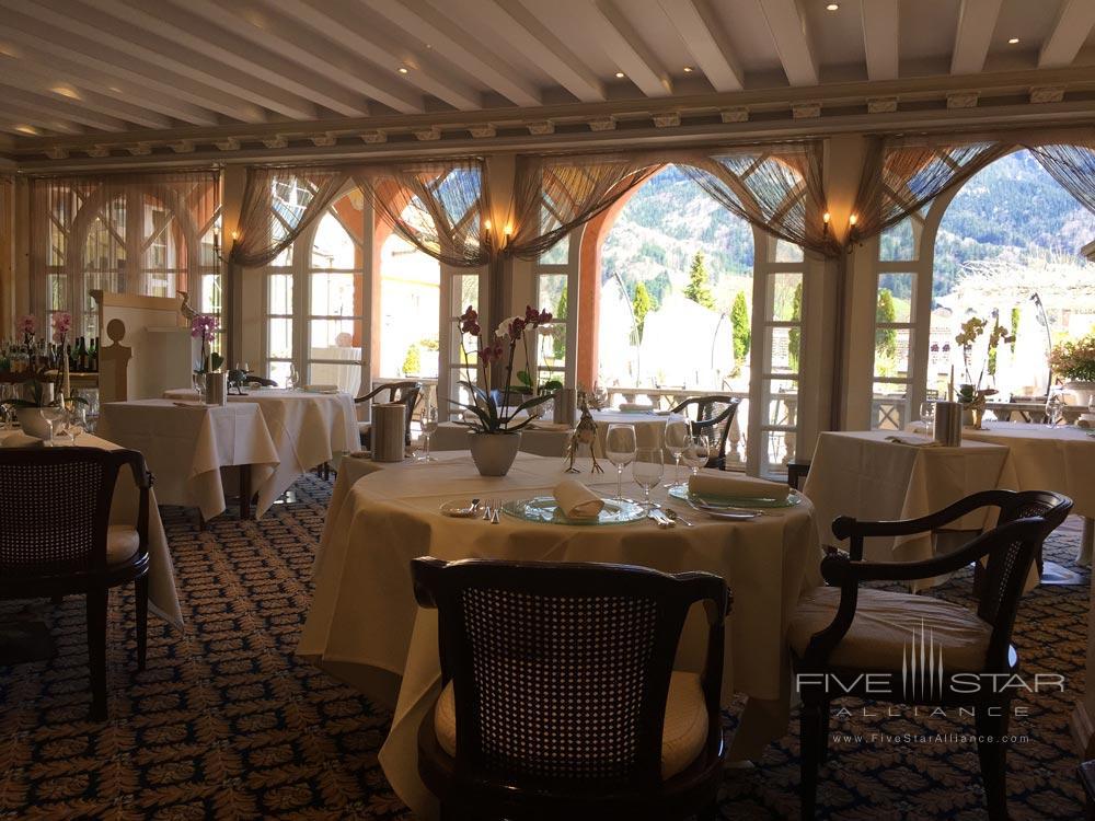 Dining at Residenz Heinz Winkler
