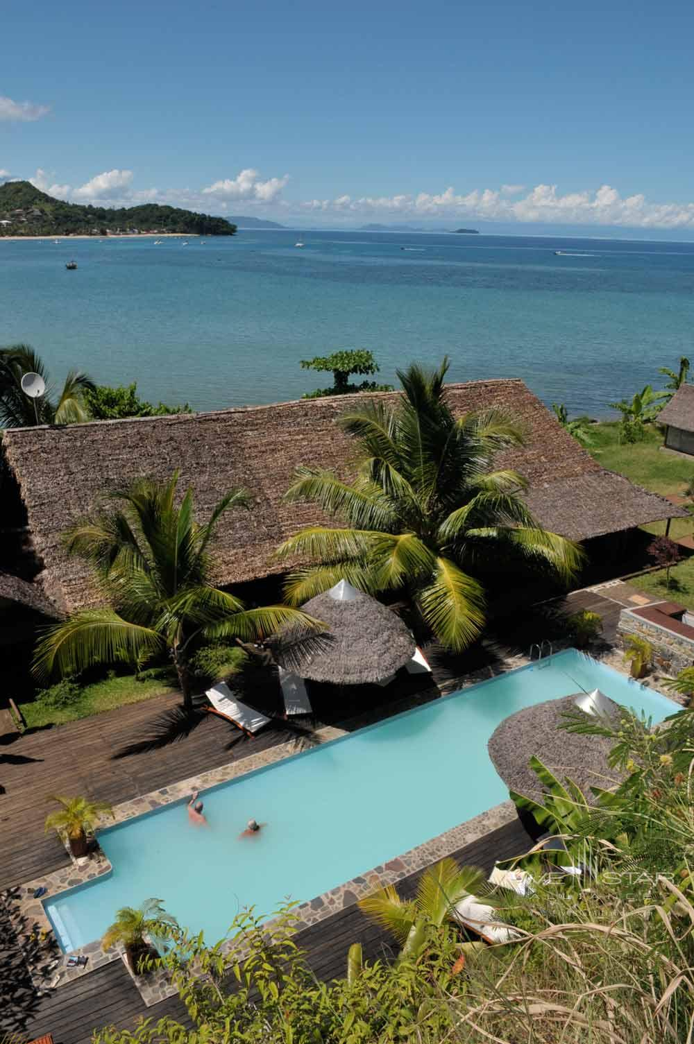 Freshwater Pool at LHeure Bleue Hotel, Madagascar