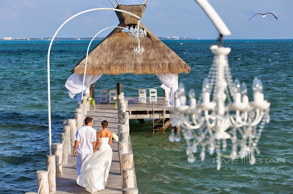 Wedding venue at Villa Del Palmar Cancun, Q.R., Mexico