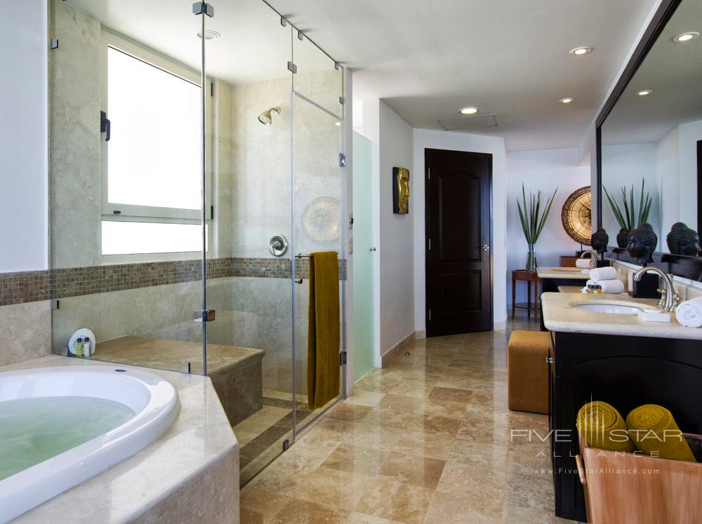 Three Bedroom Penthouse Bath, Villa del Palmar Cancun, Mexico