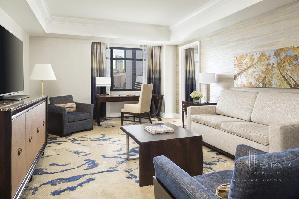 One Bedroom Suite Parlor at Ritz Carlton Denver