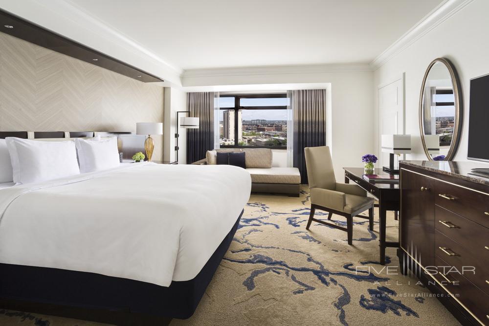 Club King Guestroom at Ritz Carlton Denver