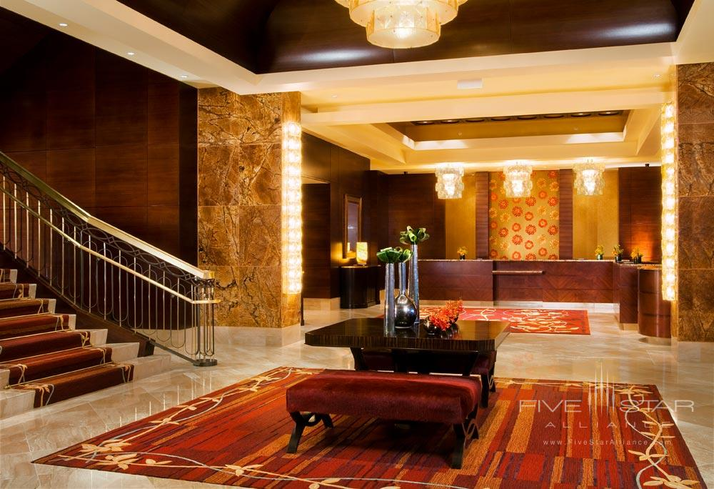 Lobby of The Ritz Carlton Denver