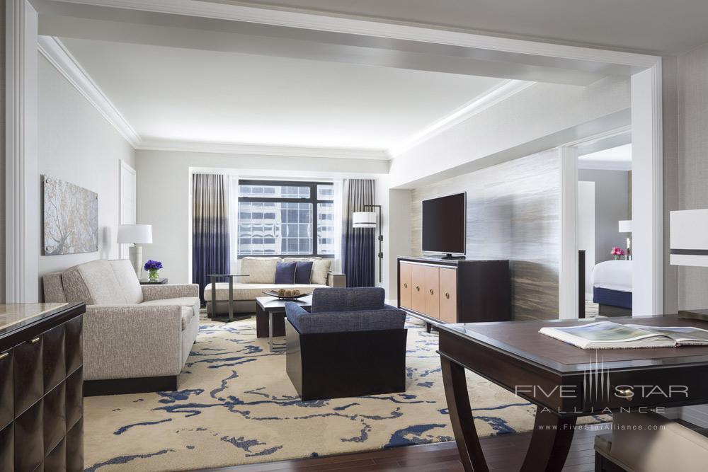 Deluxe Suite Parlor at Ritz Carlton Denver