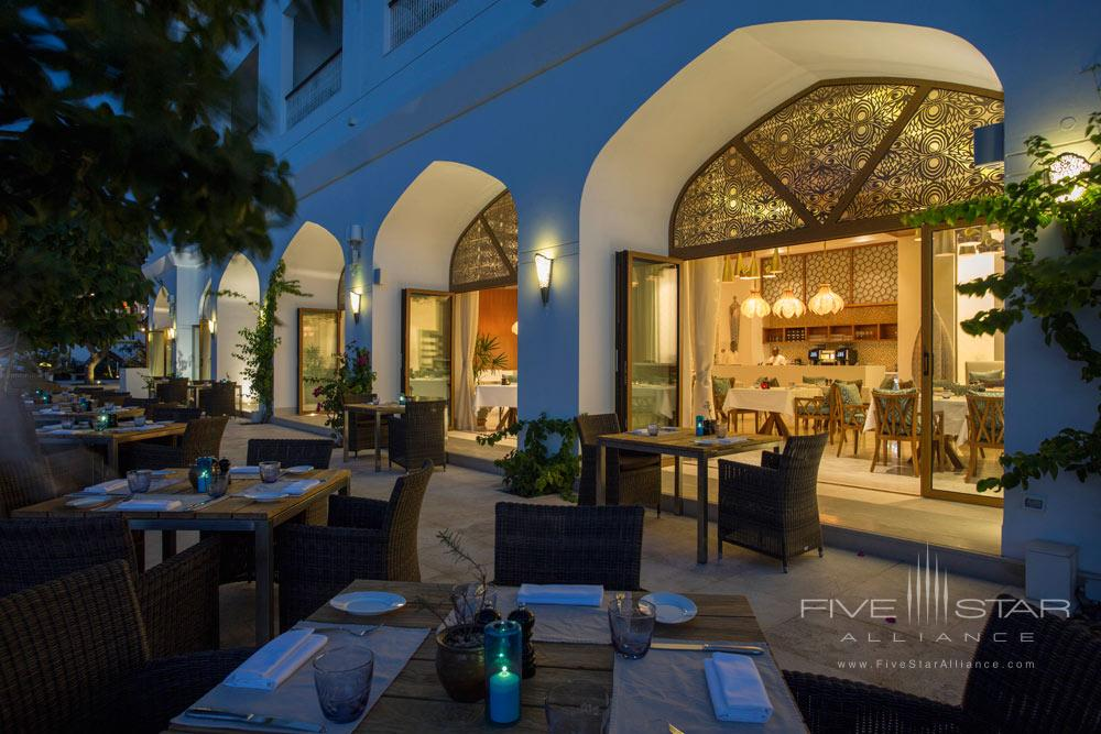 Outdoor Dining at Park Hyatt Zanzibar