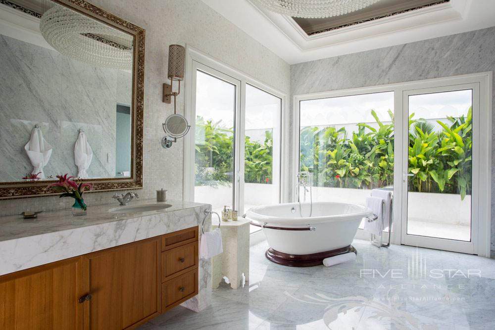 Guest Bath at Park Hyatt Zanzibar