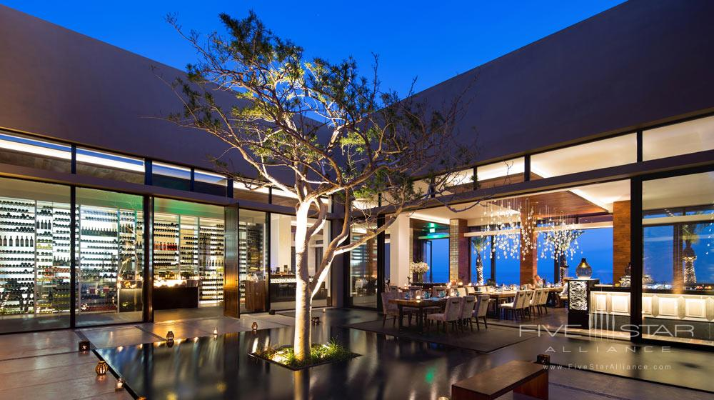 Dining at JW Marriott Los Cabos, San Jose del Cabo, Mexico