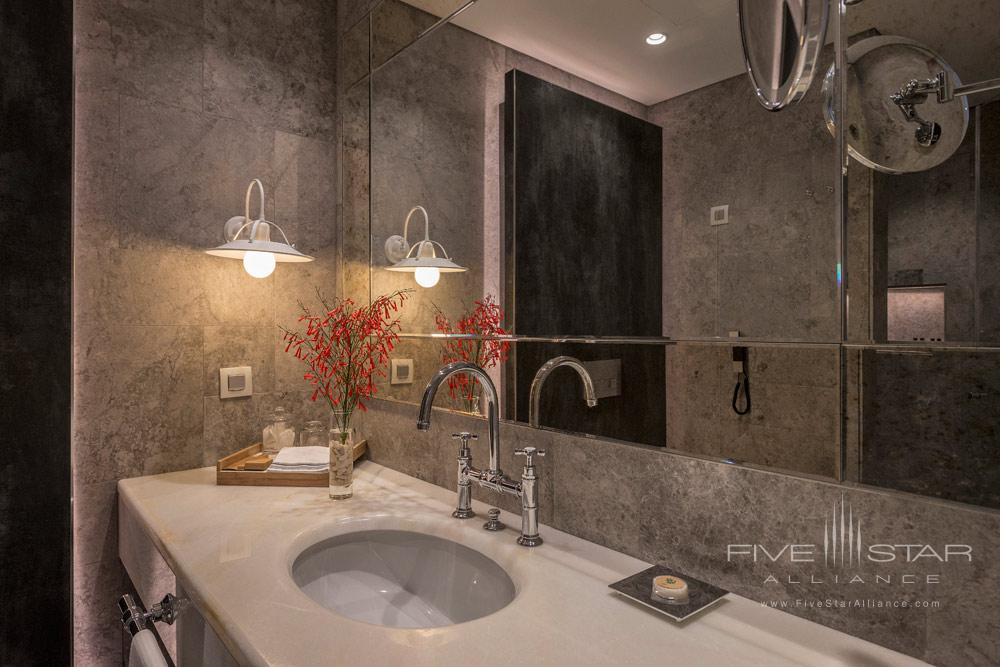 The Attic Room Bath at D-Resort Gocek, Turkey
