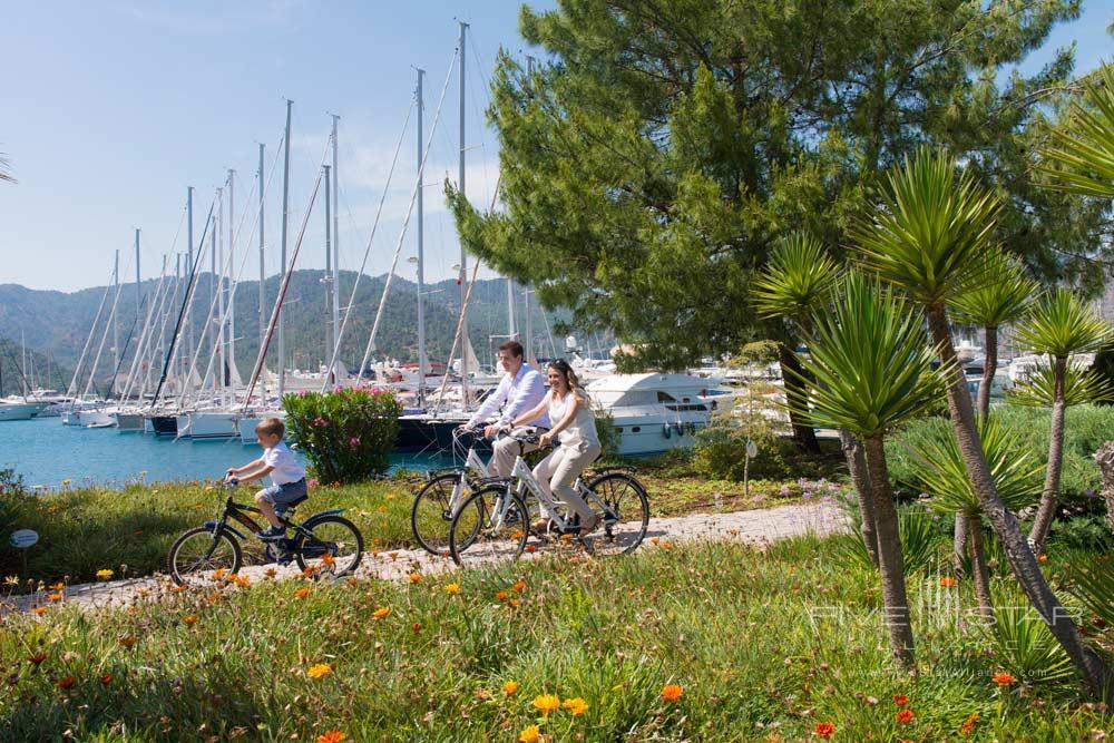 Biking Activities at D-Resort Gocek, Turkey