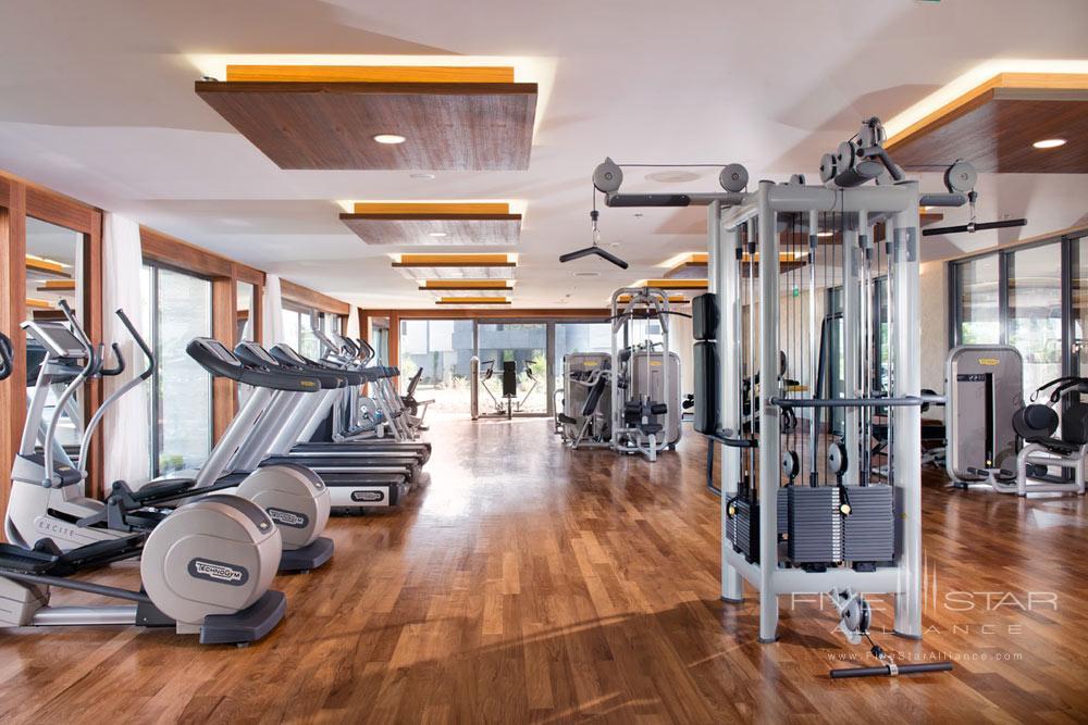 Gym at D-Resort Gocek, Turkey