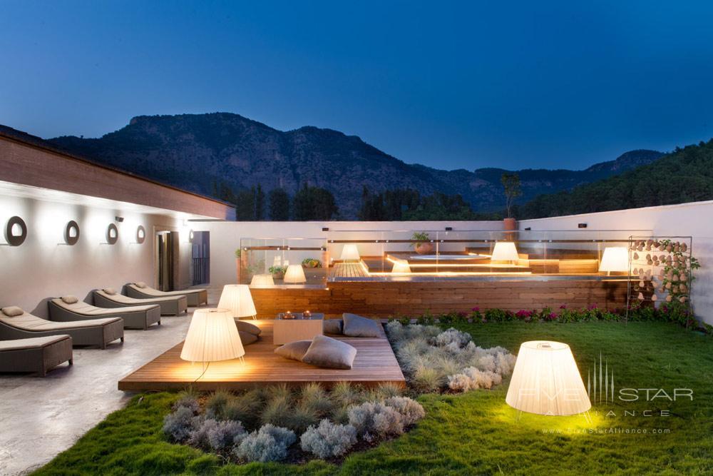 Spa Terrace with Jacuzzi at D-Resort Gocek, Turkey