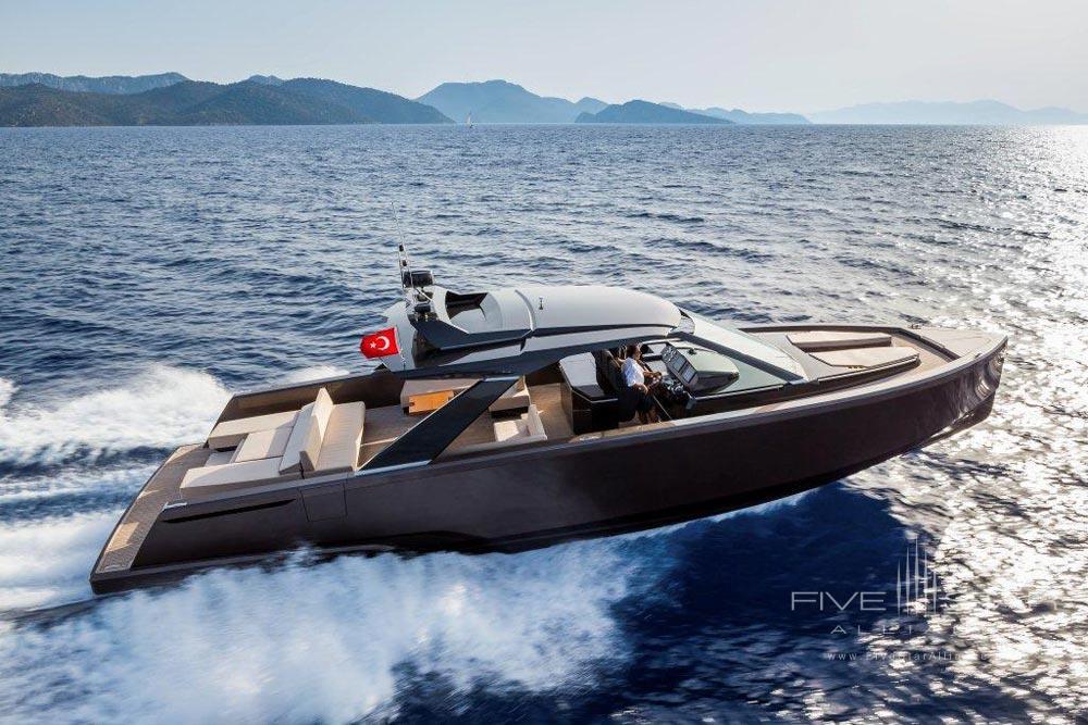 Speed Boat at D-Resort Gocek, Turkey
