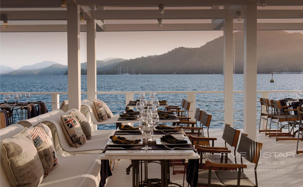 The Breeze Dining at D-Resort Gocek, Turkey