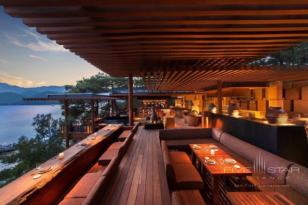 Terrace Lounge and Bar at D-Resort Gocek, Turkey