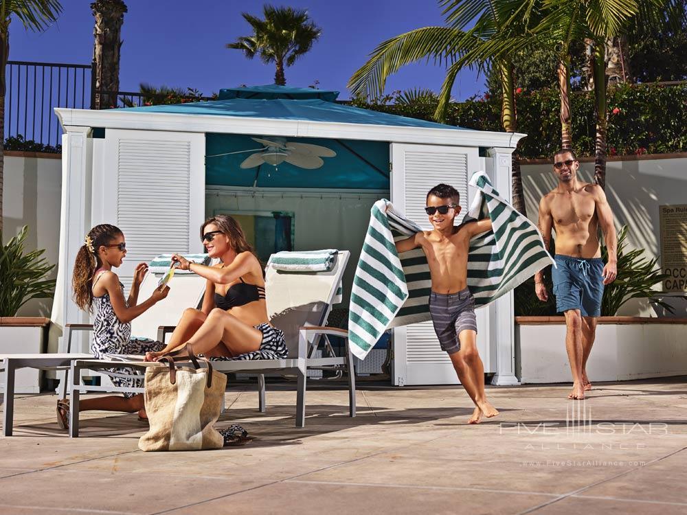 Family Cabana at Beach Village at The Del, San Diego