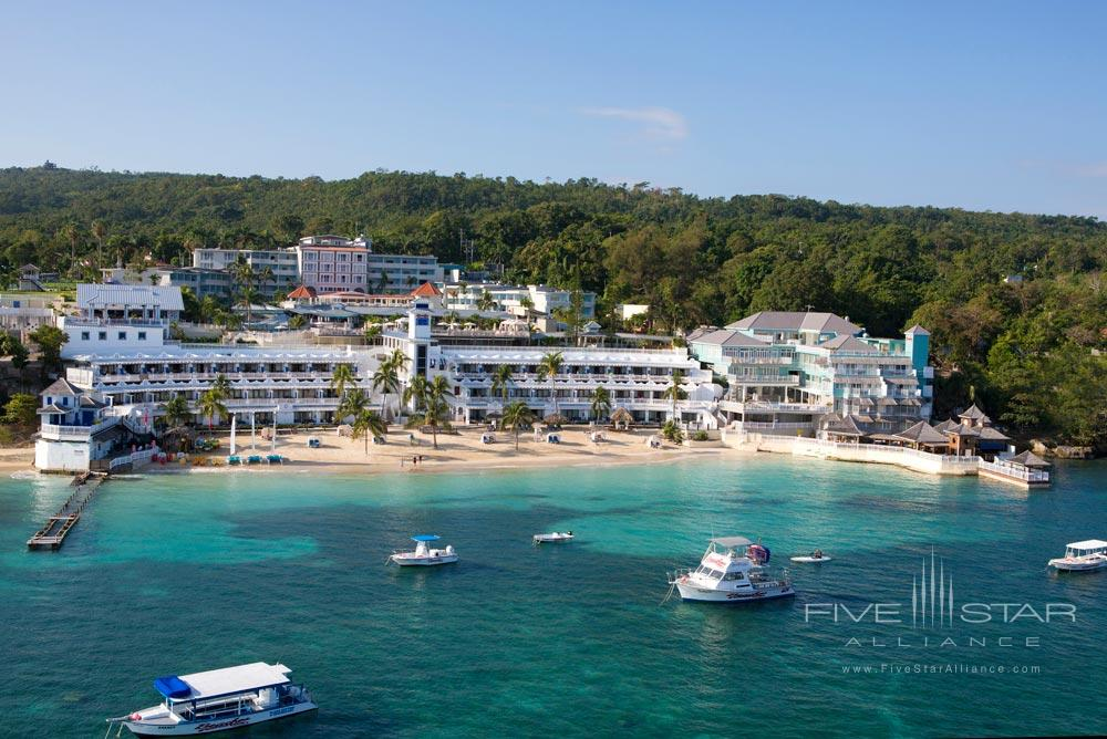 Aerial View of Beaches Ocho Rios, Jamaica