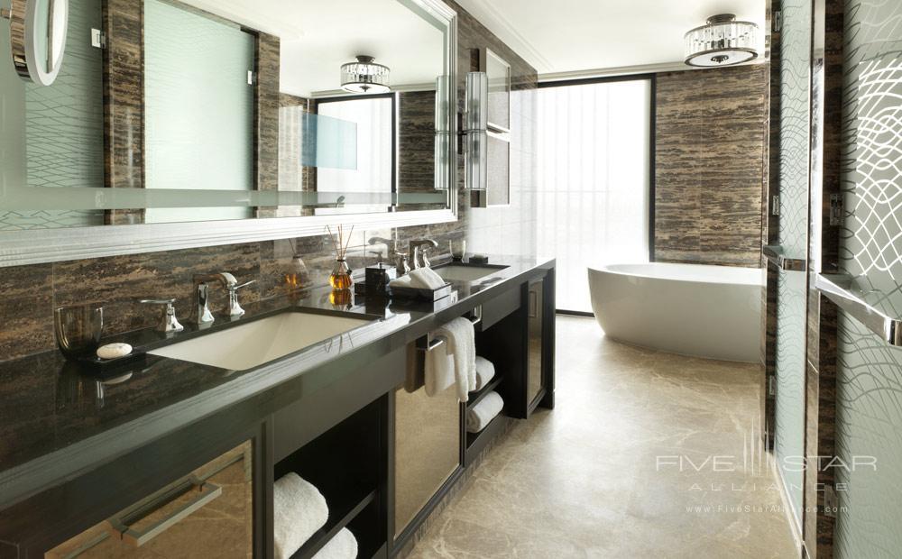 Executive Suite Bath at Four Seasons Abu Dhabi, United Arab Emirates