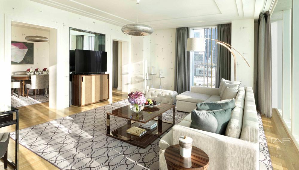 Executive Suite Living Room at Four Seasons Abu Dhabi, United Arab Emirates