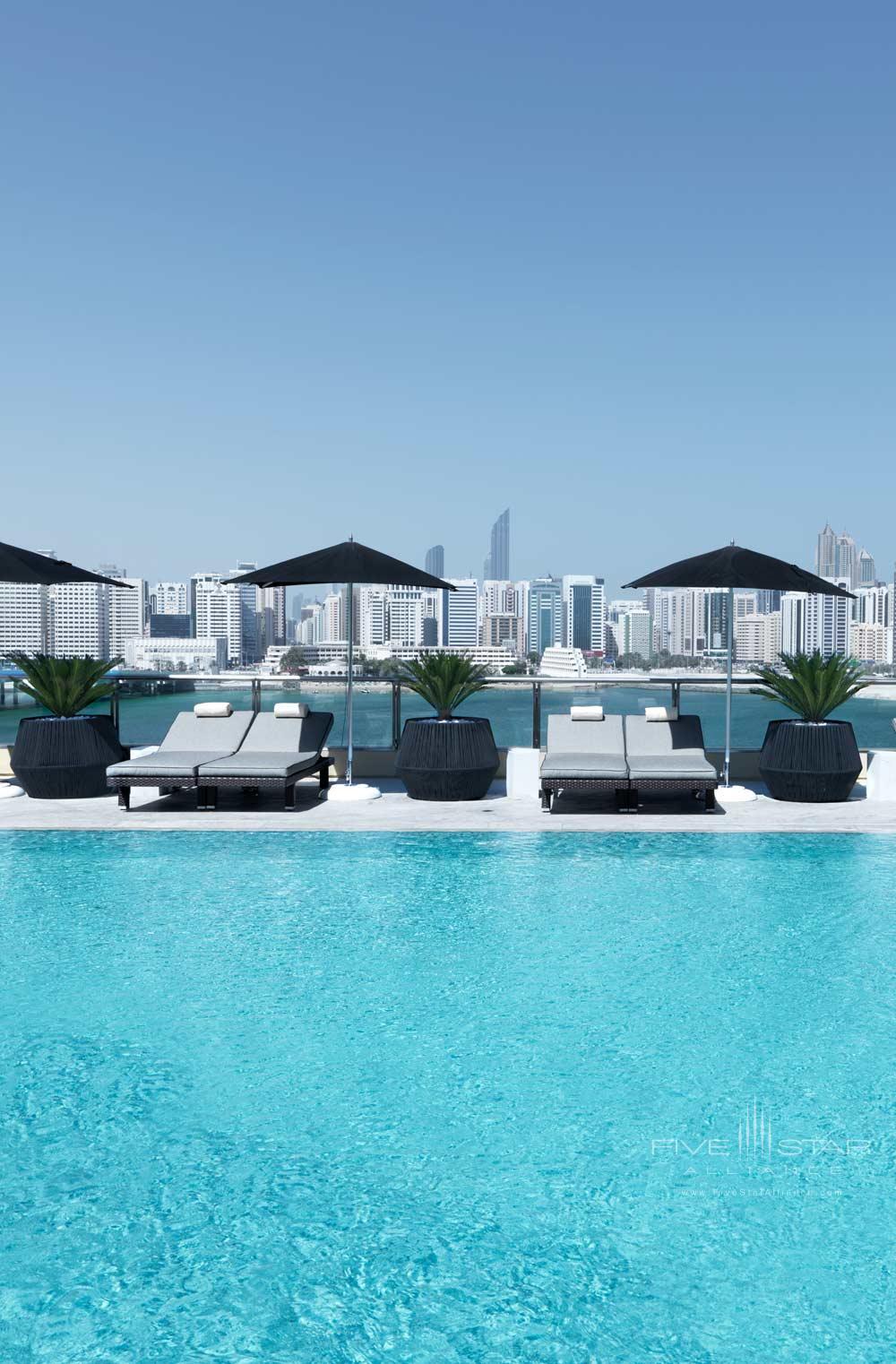 Outdoor Pool at Four Seasons Abu Dhabi, United Arab Emirates