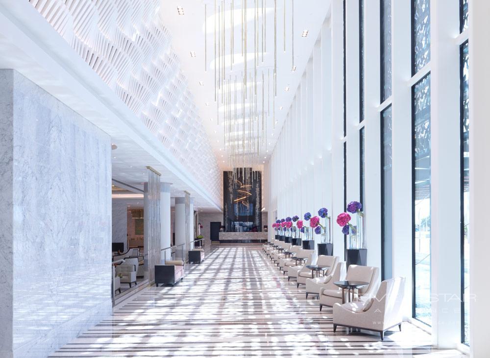 Lobby of Four Seasons Abu Dhabi, United Arab Emirates