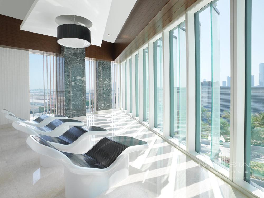 Heated Spa Loungers at Four Seasons Abu Dhabi, United Arab Emirates