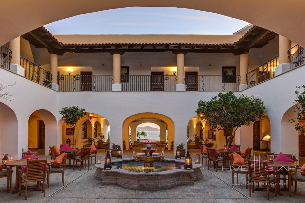 Central Patio of Casa del Mar Cabo, Los Cabos, Baja California, Mexico