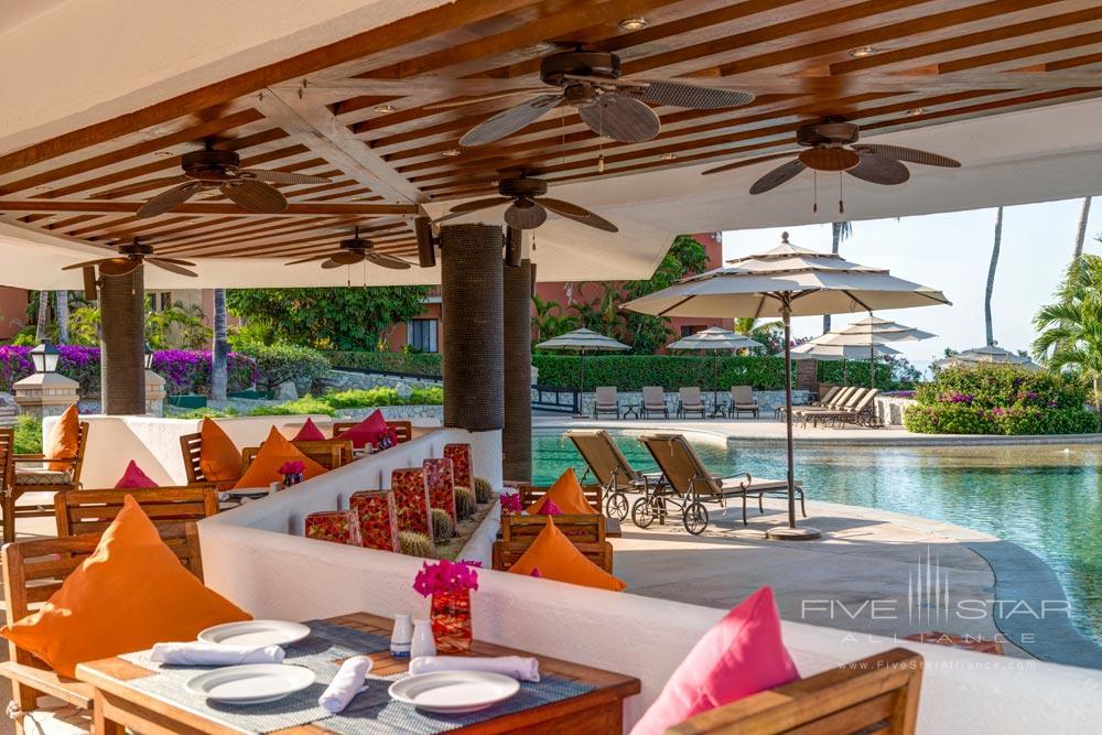 Pool Bar and Restaurant at Casa del Mar Cabo, Los Cabos, Baja California, Mexico
