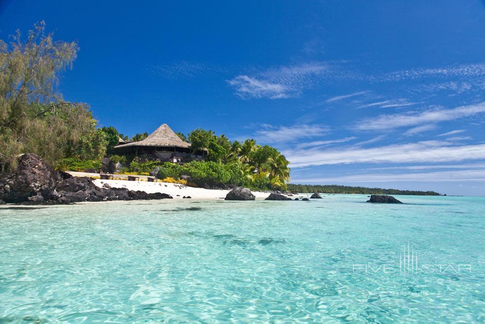 Pacific Resort Aitutaki overlooks the turquoise waters of Aitutaki Lagoon