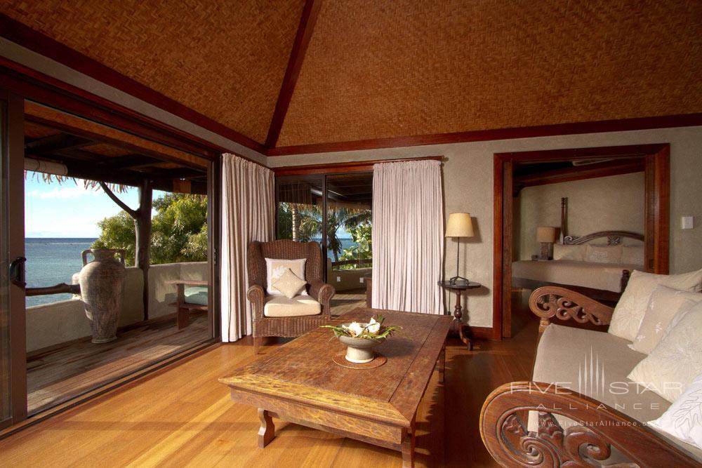 Ultimate Beachfront Bungalow at Pacific Resort Aitutaki