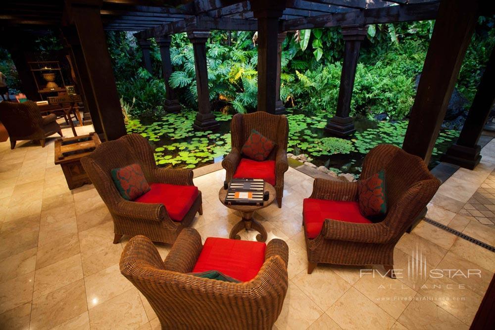 Foyer at Pacific Resort Aitutaki