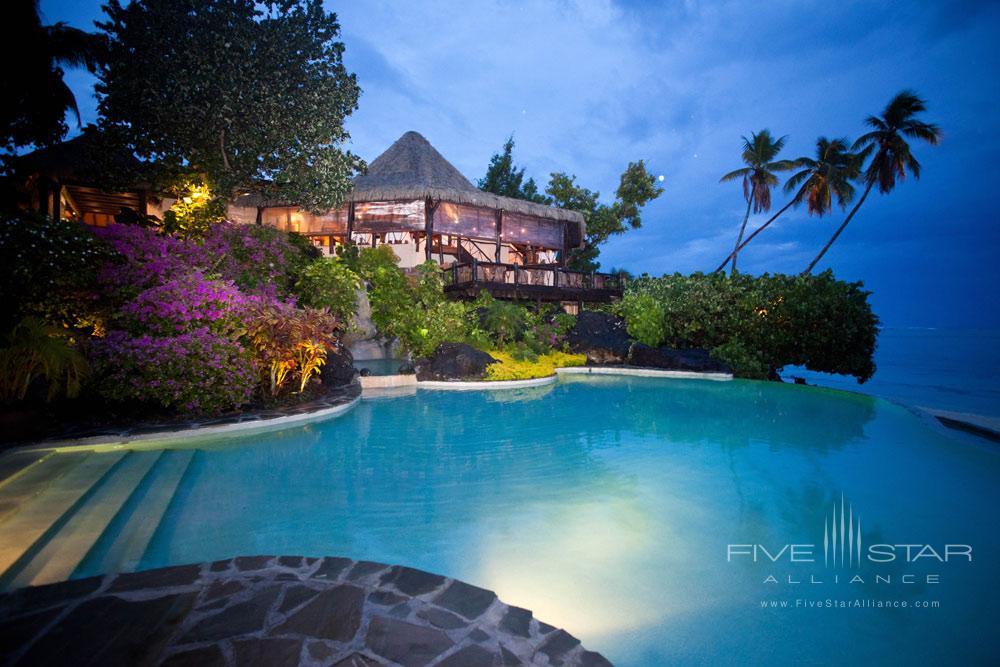 Resort Pool at Pacific Resort Aitutaki