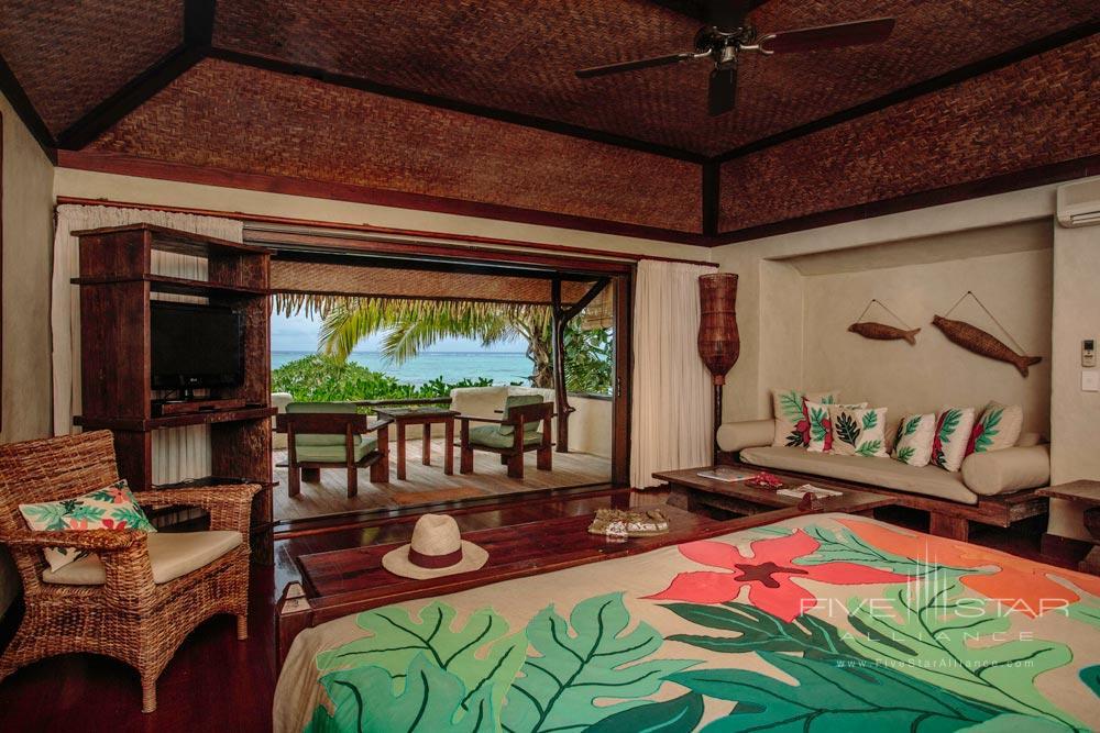 Premium Beachfront Bungalow at Pacific Resort Aitutaki